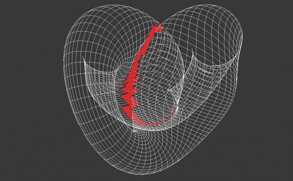 3ds max self intersect maxscript
